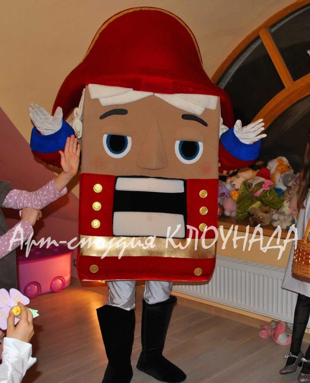 Костюм щелкунчика на новый год своими руками
