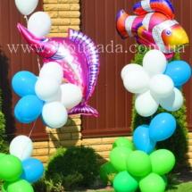 украшение шарами (40)